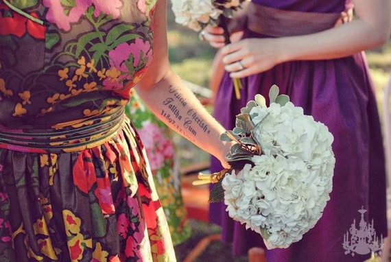 vintage inspired tea dresses for your wedding - reserved for Misty