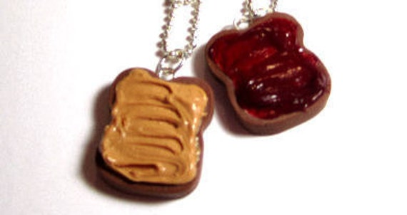 Peanut Butter And Jelly Bestfriend Charms