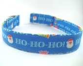 Ho Ho Ho Christmas Dog Collar