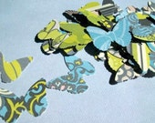 Butterfly Punches from Amy Butler Faded China Paper