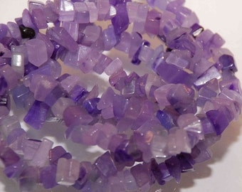 Promotion Sale----Full Strand 16 inches Neat Amethyst Chips-----Deal under cost