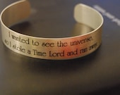 Doctor Who - Stole a Time Lord Bracelet