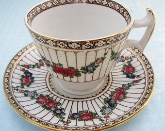 Tea Cup and Saucer Booths England