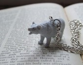Snowy the Polar Bear Necklace