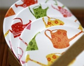 CLEARANCE - Colorful Cans Coasters Set of 4