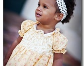 LAST ONE Up to size 3T Sophia Peasant Ruffle Dress