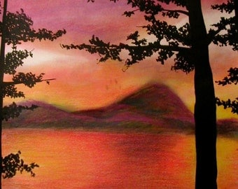 Our Thousandth Sunset Print