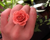 Real Rose Ring - Pink - Real Flower Jewelry