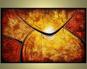 ORIGINAL Contemporary abstract, modern art painting 36 Kubatica