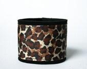 Animal print cuff