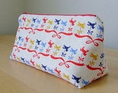 The Upside Down Carousel Zip Pouch - Oops