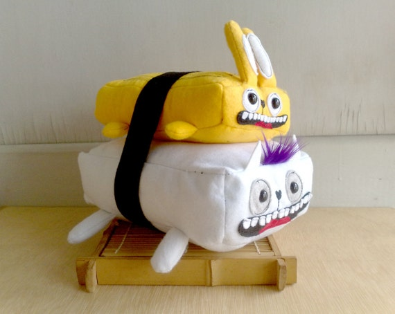 Rabbit Tamago Sushi cat ( bigger size )