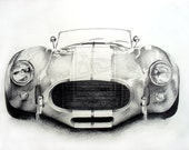 65' Shelby Cobra Front View - Print