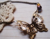 Reserved for Bubblesdreaminjune   Metamorphosis - Necklace