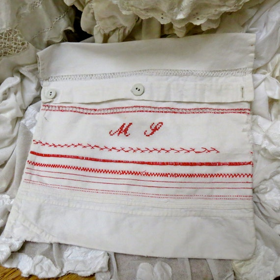 Lovely Old French Sampler...Perfect For Your French Art