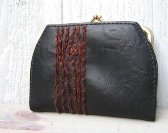 brown tree wallet