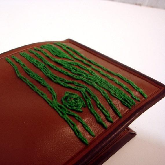 green tree mens wallet
