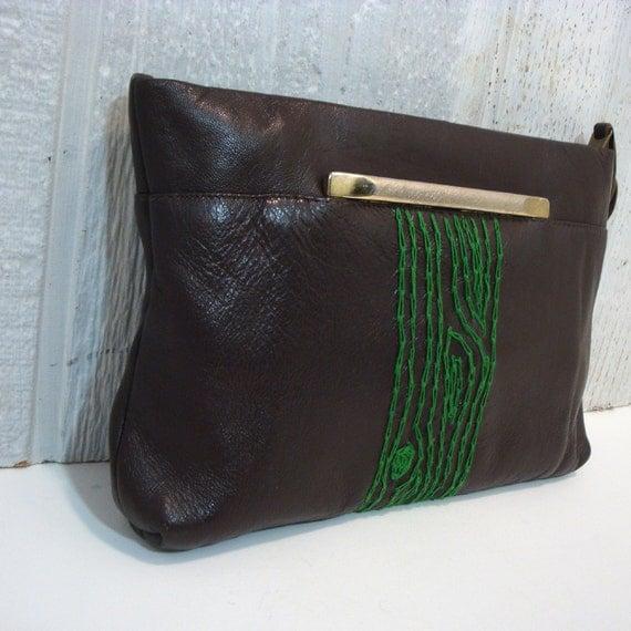 green tree handbag