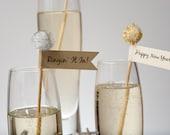 New Year Drink Stirrer - Swizzle Stick - Stir Stick