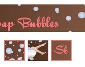 Soap Bubbles Banner and Avatars