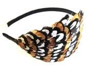 JANICE- feather headband or clip