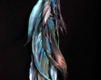 LISA - Long Single Feather Earring