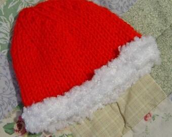 Santa Baby Knit Hat Pattern PDF