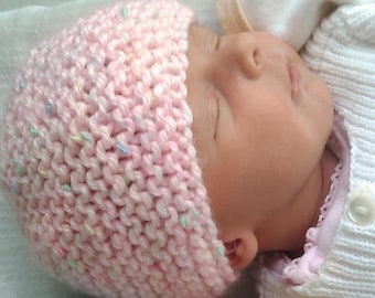 Classic French Baby Cap Pattern, Fast and Easy, PDF