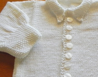 French Royal Toddler Cardigan Pattern PDF