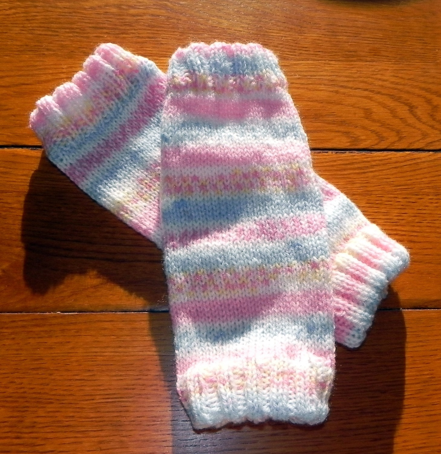 Knitting Pattern For Toddler Leggings : Toddler Ballerina Leg Warmers Knitting Pattern PDF
