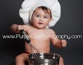 Fait sur commande pour commande pâtissier Hat - photographie - n'importe quelle taille - le soutenir n'importe quelle couleur