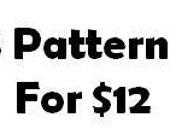 3 Muster für 12 Dollar