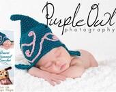Crochet Pattern 014 - Swirl Gnome Beanie Hat - All Sizes