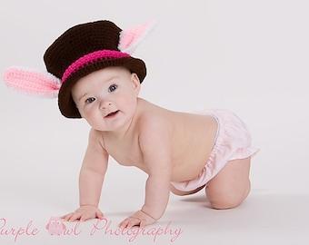 Alice in Wonderland White Rabbit Hatter Hat - Any Size