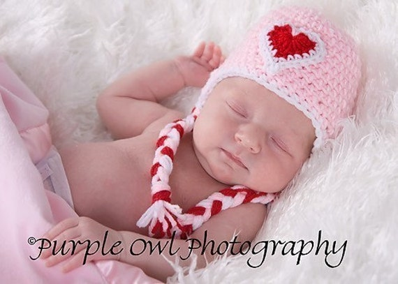 Sweetheart Baby Hat - Photography Prop - Any Color