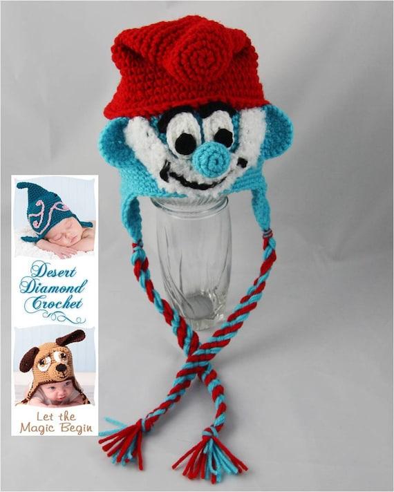 Grandpa Blue Gnome Hat - Any Size