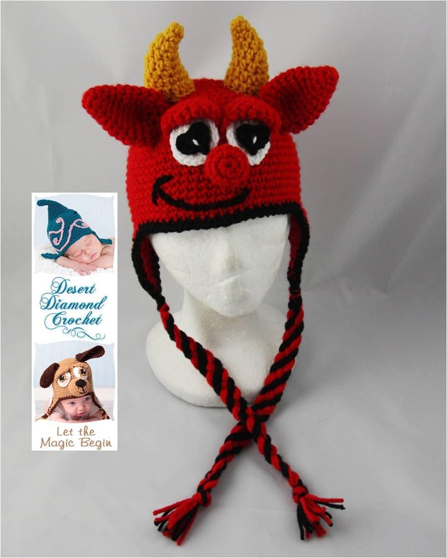 Crochet Pattern - Valentine's Day Hat Pattern Pack 1 - 4 Patterns ...