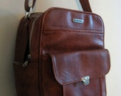 Vintage Samsonite Leather Shoulder Bag