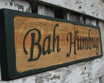 Bah Humbug sign