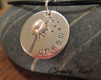 Custom Dandelion Necklace by Carmen Bowe
