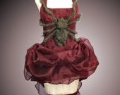 Little Miss Muffit Burlesque Style Corset