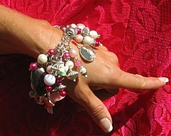Love Spell Charm Bracelet Victorian Valentine