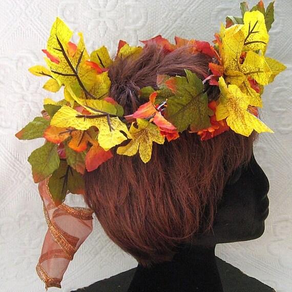 Autumn Oak Fairy Crown
