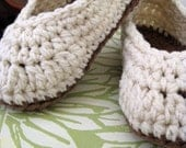Your Favorite Pair of Slippers in Vanilla Cream and Taupe available in women's sizes 3-12
