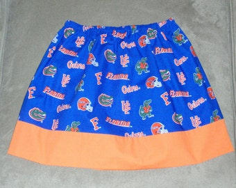 Gators University Florida Twirl Skirt, Sizes 3 mos to 8