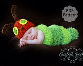 The Very Hungry Caterpillar Crochet Pattern