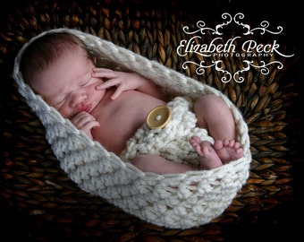 Infant Diaper Cover Crochet Pattern in Two Sizes INSTANT DOWNLOAD