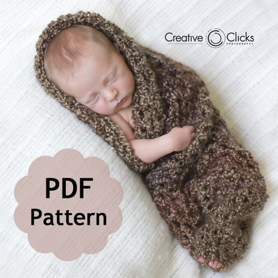 Baby Cocoon for Newborn Photography PDF Pattern for by ...