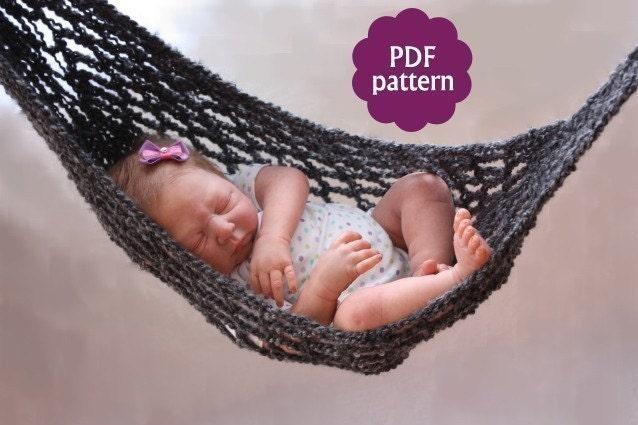 Crochet Baby Hammock Pattern Free Dancox For