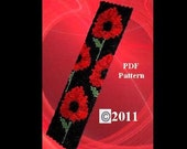 Remember Me - Poppies  PDF Beadweaving Pattern
